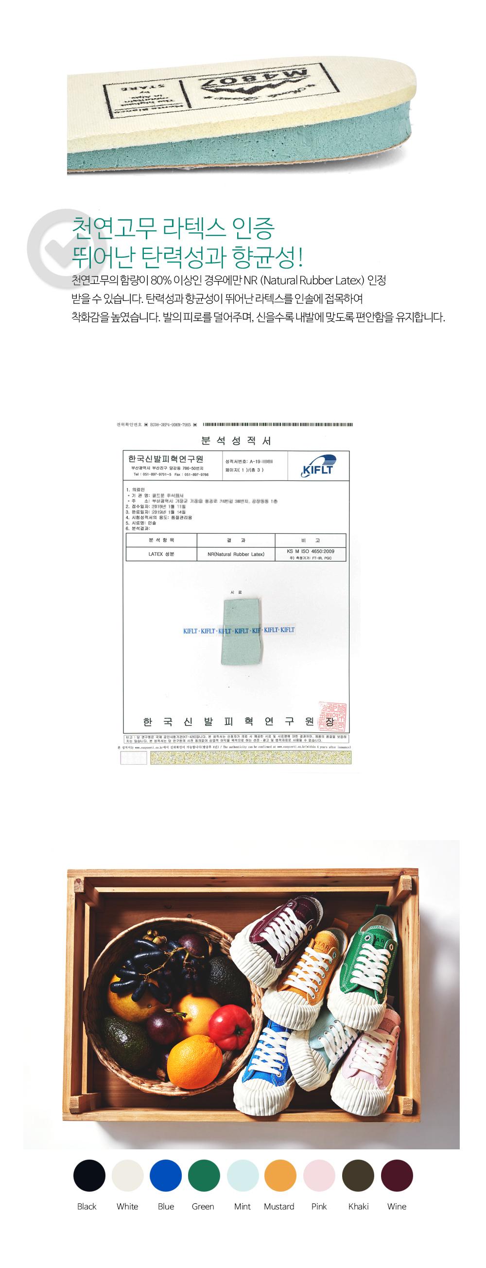 스테어(STARE) 남여공용 M4807 오리지널 캔버스 스니커즈_STU91LO002GE